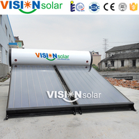 Hot selling high pressure solar panels water heating from Alibaba China