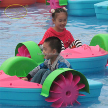 Safety approved HDPE inflatable paddle boat for sale
