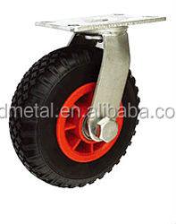 Black plastic caster wheel caster sliding door side mount caster wheels