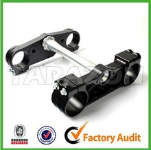 cnc factory wholesale and custom made cnc billet aluminum pit bike triple clamps