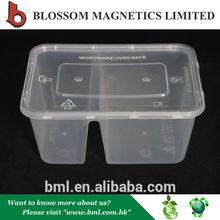 calificado de plástico compartimiento de bento box lunch box