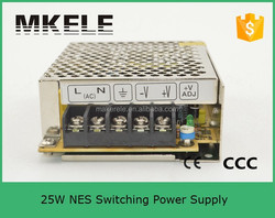 NES-25-24 25w single output switching power supplies 25w led drive 24v 25w ul