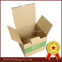 promotion kraft feature and Paper Material Postage package Box