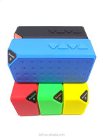 Bluetooth Speaker made in China MINI X3 Wireless Portable cube Style Subwoofer TF USB FM HandsFree Music Sound Box Loudspeakers