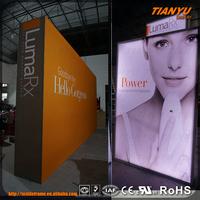 HOT SALE! frameless led advertising small led light box