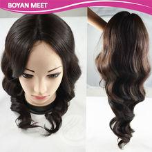 Wholesale 100% Hand Made full lace Brazilian Human Hair Wigs,