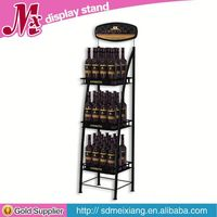 Metal display case rotating, MX10089 popular display stand for mobile phone accessories