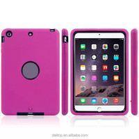 Newest Robot Design Rubber Back Case For Apple iPad mini 3