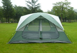 American large camping tent / 8-person family tent camping / the U.S. tent