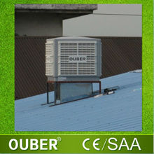 airflow 18000m3/h warehouse tents evaporative cooling system