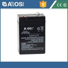 Low Price Best Quality 6V Lead Acid Battery 6v 5.5ah