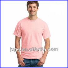 Manufacturer in china wholesale short sleeve fashion men's hemp blank tshirts