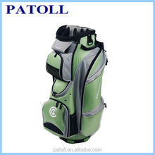 2015 custom genuine leather golf caddy bag