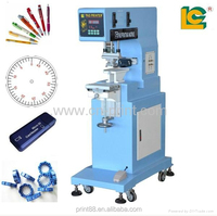 Semi-Automatic 1-Color Sealed Ink Cup promotional gifts tampo Printing Machine LC-PM1-100T