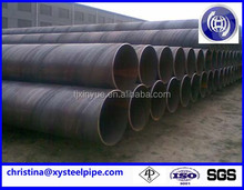 api 5l x60 ssaw pipe/ lined oil and gas pipe/ mild carbon steel pipe