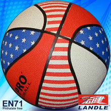 Good quality standard of new style cheap laminated basketball
