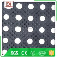 Anti Slip Grassland Perforated Rubber Mat