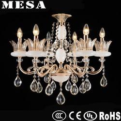 small 6 lights E14 lampbase chandeliers for nursery