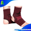 Negative ions Elastic magnetic ankle protector for sport protection