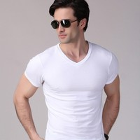 Wholesale Clothing 100% Bamboo T Shirts New Fashion Dress