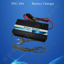 3 stage charge 10a battery charger 12v for gel and lead acid battery