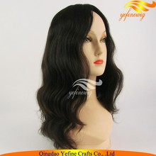 Alibaba Express Mongolian Remy Hair Kosher Certification Stock Jewish Wig