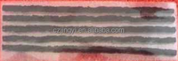red and black tire repair seal string 200mm*6mm