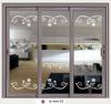 aluminium profiles for glass door entry storm door