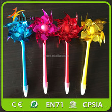 colorful windmill gift pen for kid