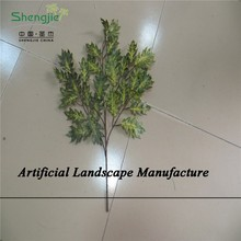 SJZJN 401 Artificial Ginkgo/Oak/Orange/ Tree Leaves /Different Kinds of Tree Leaves