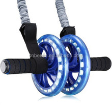 Home Ab Wheel Roller Rolling Exercise Strengthens Core and Tightens Your Tummy