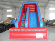 TOP (JR) inflatable toboggan slide,inflatable tropical water slide
