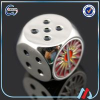 Promotional printing glowing dice