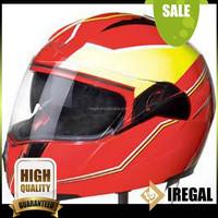 Flip-up Carton Full Face ABS ATV Motorcycle Helmet
