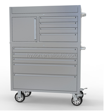 """Extreme Tools 41"""" 4 Drawers Top Chest and 5 Drawer Standard Roller Cabinet"""