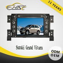 China factory OEM ODM hd car dvd for suzuki grand vitara car dvd gps navigation system with bluetooth USB SD