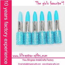 bling bling promotional lipstick pen