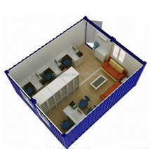 Easy assembled modular home/Prefab flatpack office/living room/ container house plans