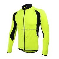 Men Fleece Thermal Winter Windstop Cycling Jacket Windproof Bicycle Clothing Long Sleeve Jersey