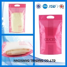 Gravure printing plastic bag for cosmetic brush