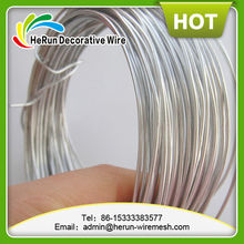 HR silver color anodized aluminum craft wire/colored aluminum wire