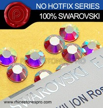 Wholesale Swarovski Elements AB Clear (001AB) 16ss Flat Back Crystal Non HotFix