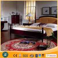 100% Acrylic carpet and rugs ,shaggy red round carpet for bedroom decorating,hotel,home