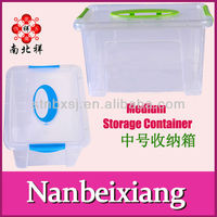 4.6L Plastic Attached-lid Storage Containers