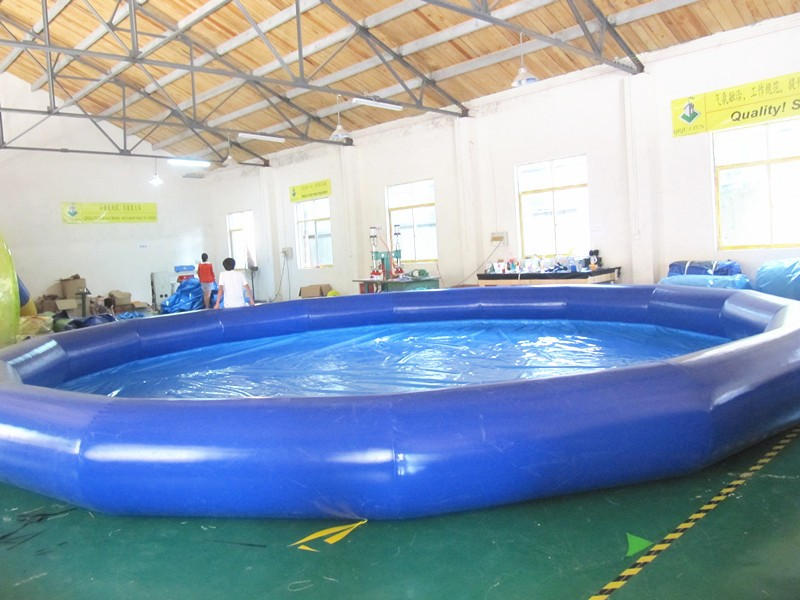 En plein air grande piscine gonflable pour enfants et - Piscine gonflable rectangulaire adulte ...