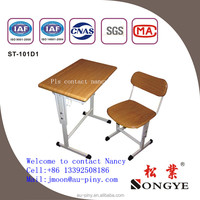 school furniture student kids study steel plywood melamine