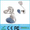 OEM Brand Jewelry usb flash drive bulk 16gb 32gb 64gb usb stick key ring with full capacity