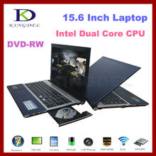 "15.6"" Notebook, Laptop with Intel Atom D2500 Dual Core 1.86Ghz, 4GB RAM, 500GB HDD, DVD-RW, Webcam, WIFI, Bluetooth, 1080P HDMI"