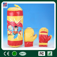 "17"" superman logo, sport game toy, boxing glove"