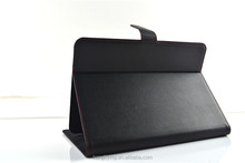 Universal business style Leather Case for iPad series with elastic